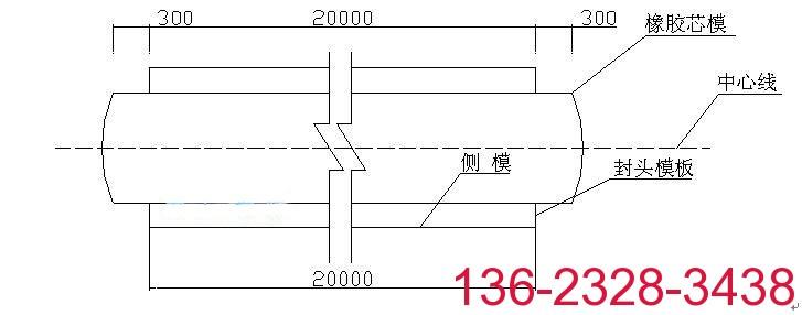 科运桥梁箱梁橡胶充气芯模 空心板橡胶气囊内模2