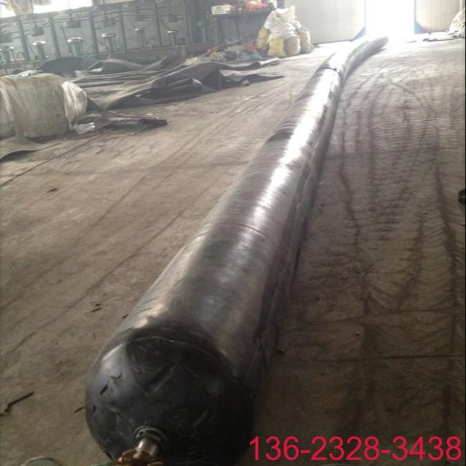 隧道排水边沟充气芯模橡胶气囊内模-科运橡塑圆形隧道排水沟气囊内模厂家8