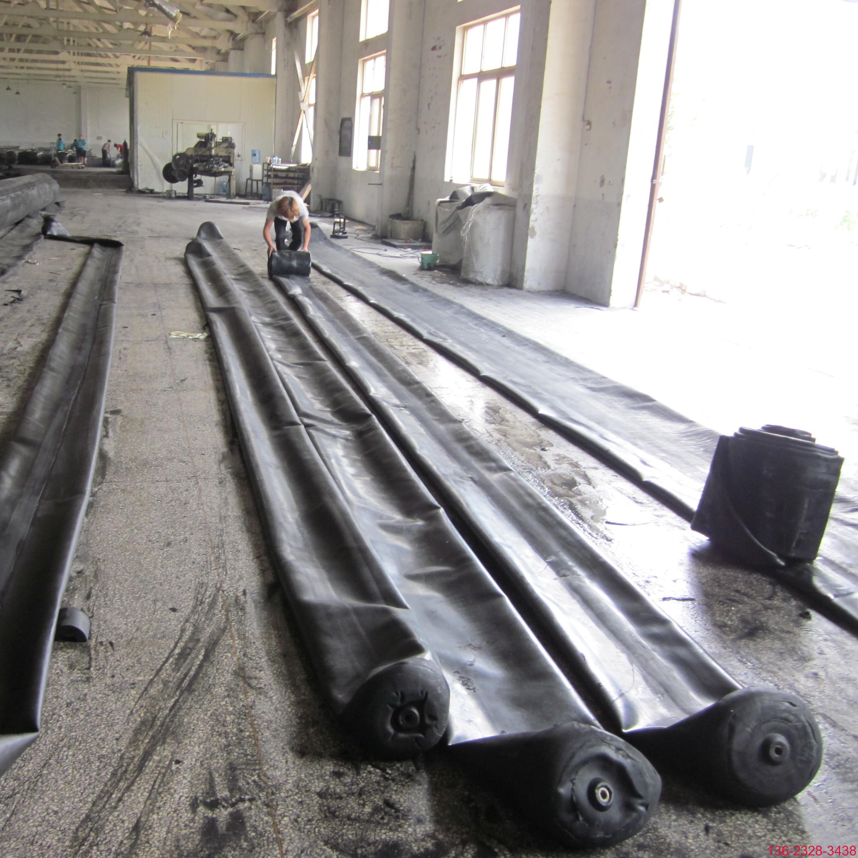 隧道排水边沟充气芯模橡胶气囊内模-科运橡塑圆形隧道排水沟气囊内模厂家11