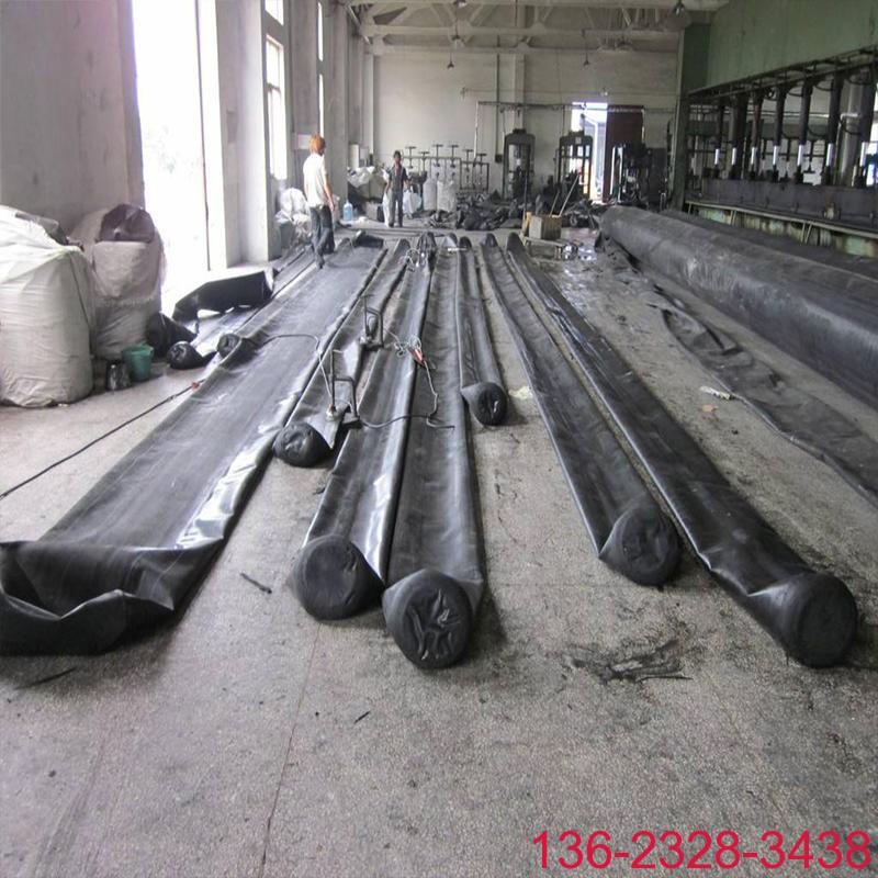 隧道排水边沟充气芯模橡胶气囊内模-科运橡塑圆形隧道排水沟气囊内模厂家1