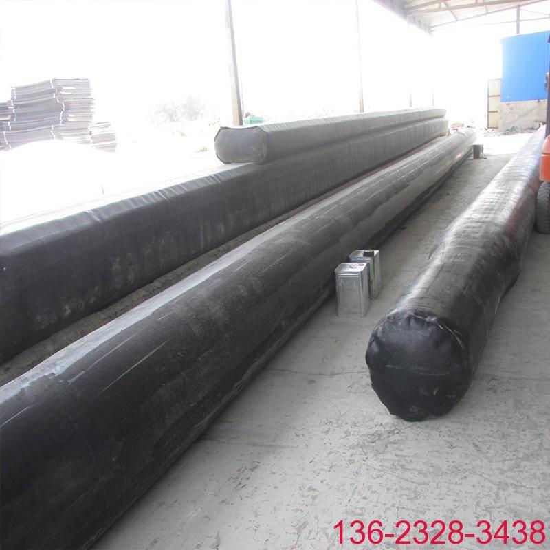 隧道排水边沟充气芯模橡胶气囊内模-科运橡塑圆形隧道排水沟气囊内模厂家4