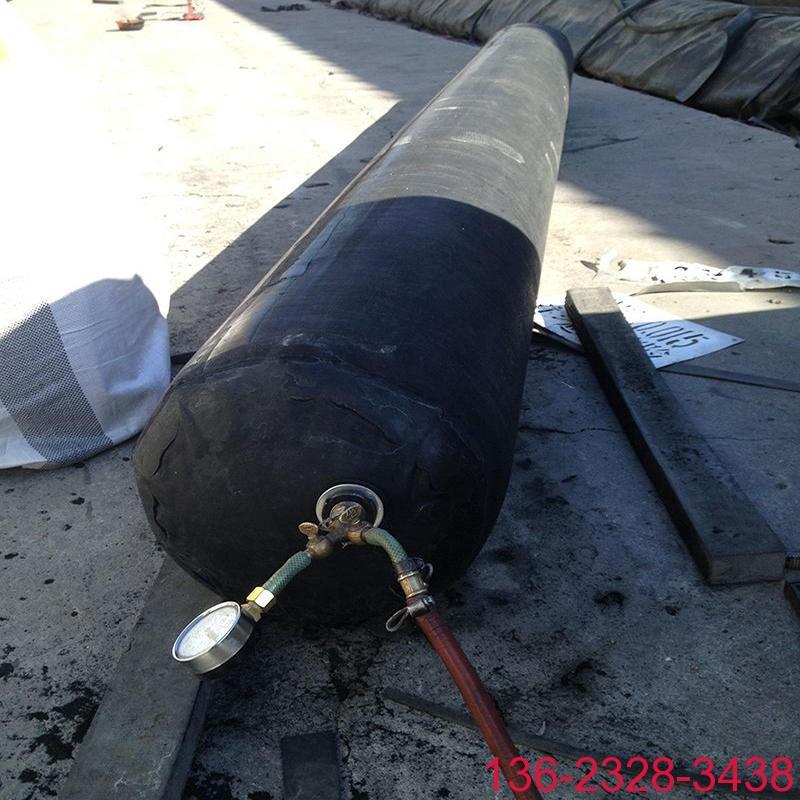 隧道排水边沟充气芯模橡胶气囊内模-科运橡塑圆形隧道排水沟气囊内模厂家6