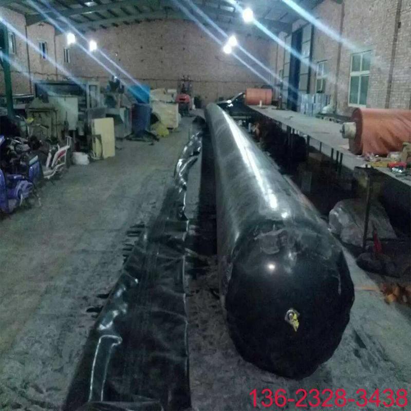 隧道排水边沟充气芯模橡胶气囊内模-科运橡塑圆形隧道排水沟气囊内模厂家7
