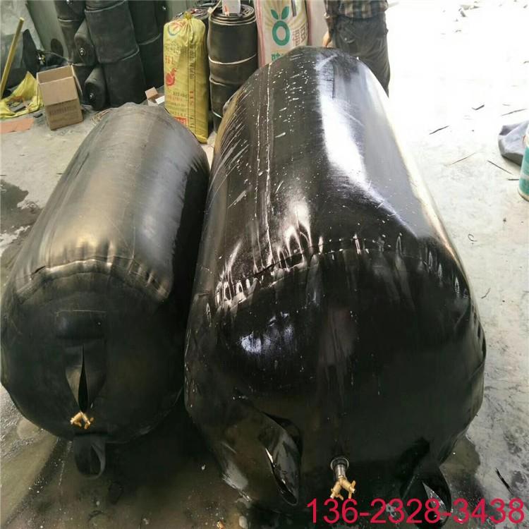 双层橡胶加厚管道堵水气囊 管道闭水气囊DN300/500/700/1000现货批发2