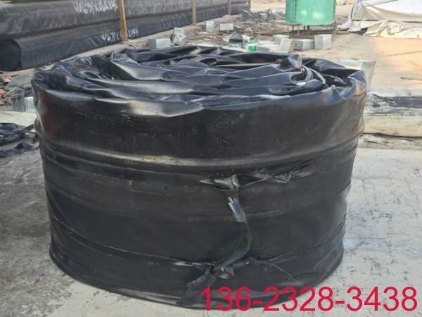 桥梁充气芯模各种截面混凝土空腔预制充气芯模 橡胶空心模 气囊内模厂家批发2
