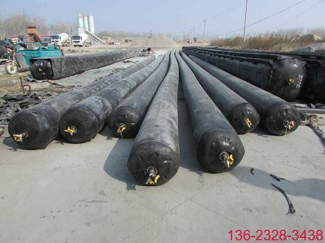圆形桥梁空心板气囊内模 科运加强型橡胶充气芯模研发企业1