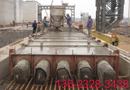 桥梁预应力空心板橡胶充气芯模在制梁场的应用实践3