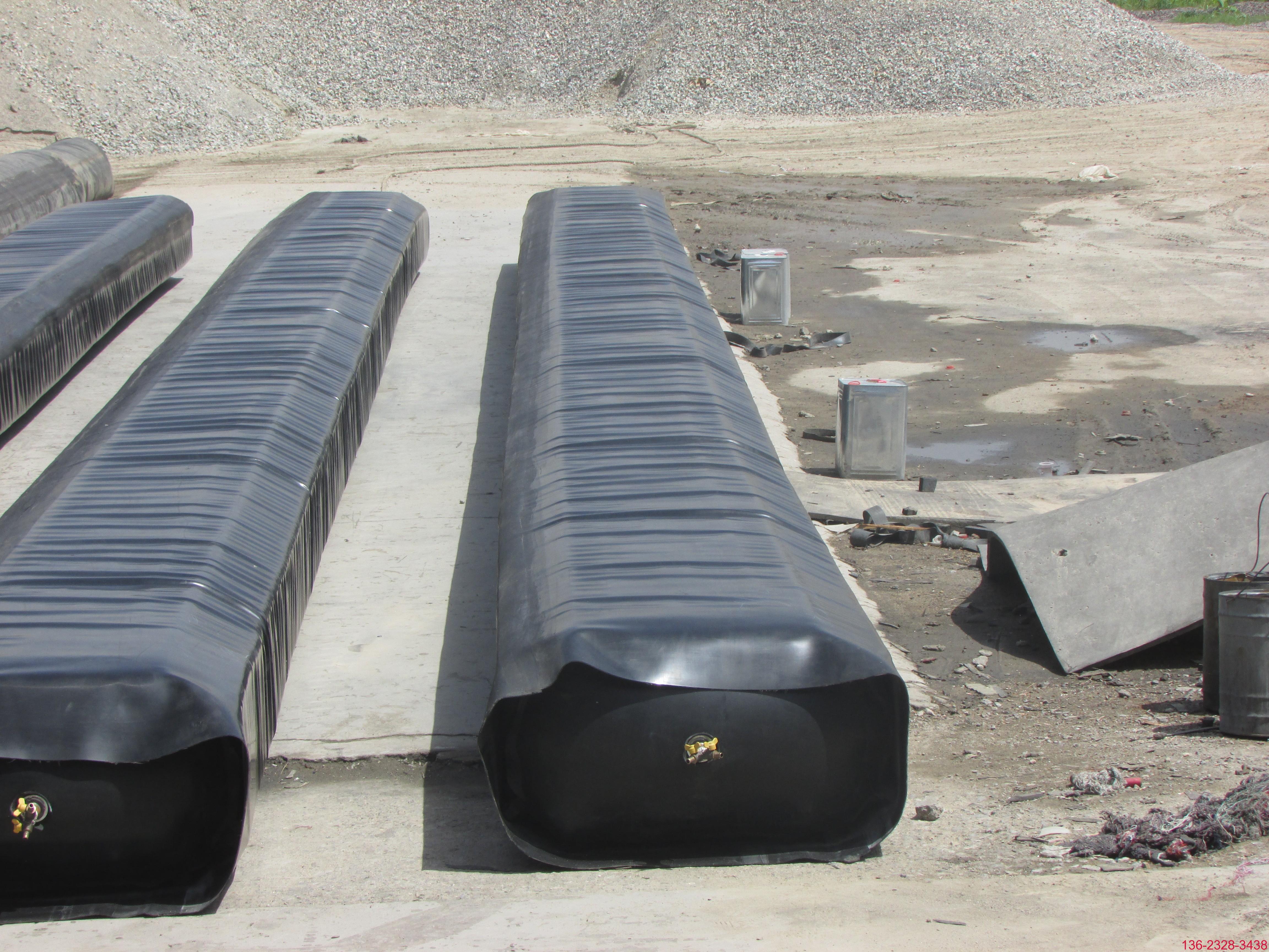 桥梁隧道排水边沟橡胶气囊内模 圆形边沟芯模批发2