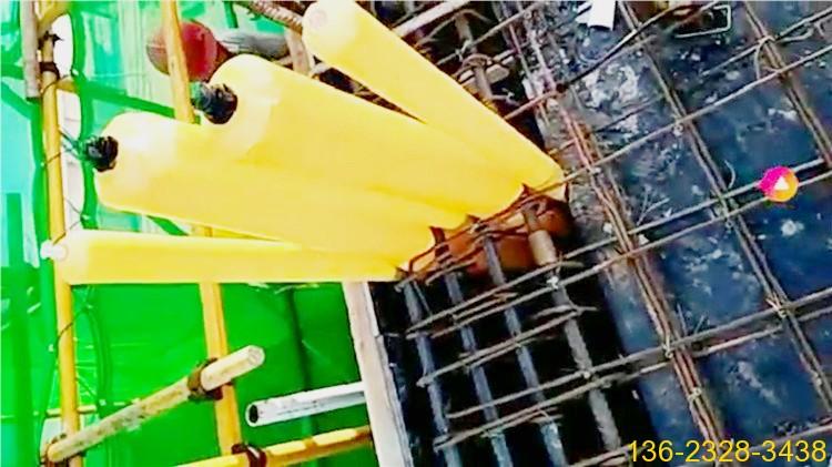 梁柱混凝土浇筑用隔断拦茬充气囊 厂家价格批发3