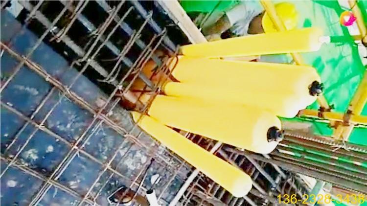 建筑梁柱多标号混凝土浇筑辅助隔断拦茬气囊厂家1
