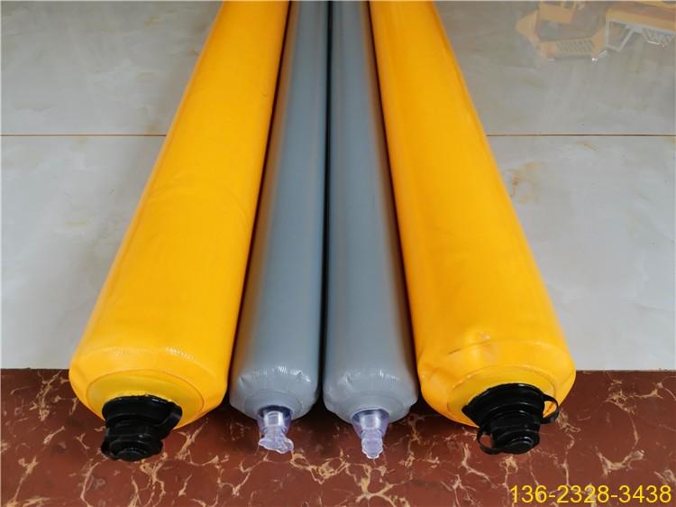建筑梁柱高低标号砼拦茬充气气囊 山东隔断气囊厂家9
