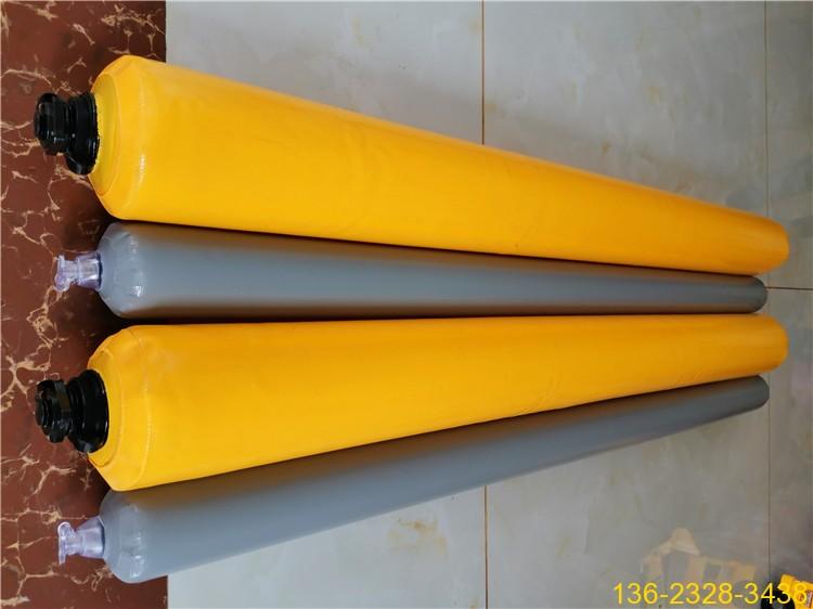 高层楼房建筑梁柱节点混凝土隔断气囊 充气拦茬气囊5
