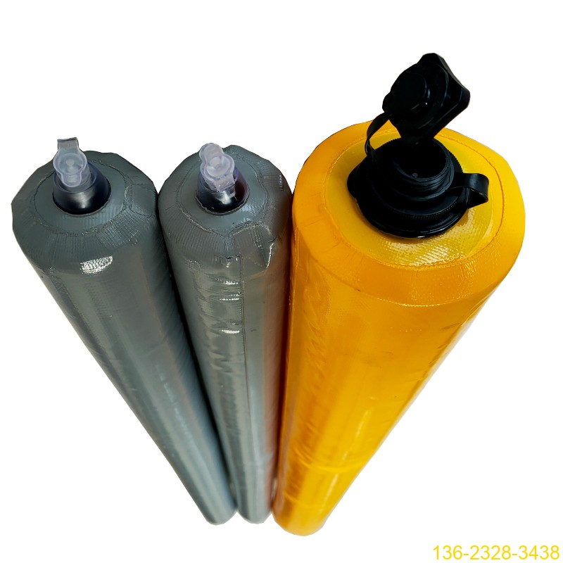 建筑梁柱高低标号砼拦茬充气气囊 山东隔断气囊厂家4