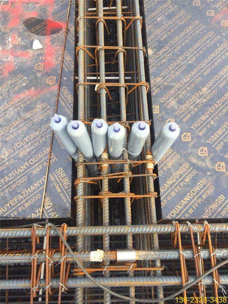 建筑梁柱节点多标号混凝土防串标拦茬气囊常用型号5