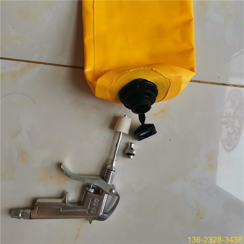 混凝土防串标气囊 混凝土后浇带隔断气囊【充气隔断柱】9
