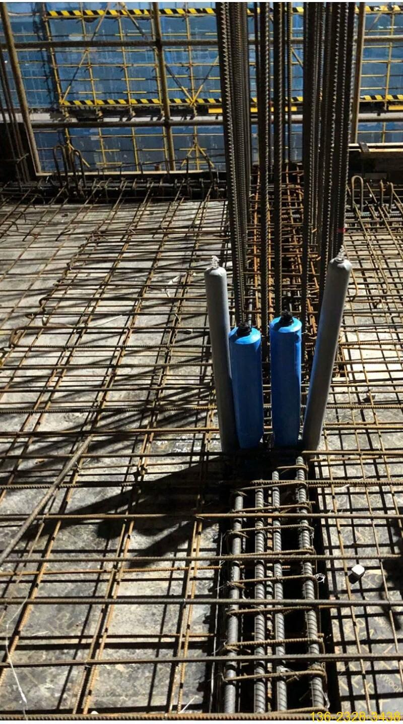 混凝土防串标气囊 混凝土后浇带隔断气囊【充气隔断柱】10