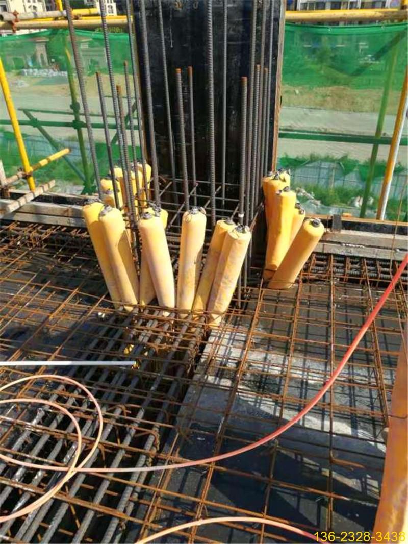 建筑梁柱节点多标号混凝土防串标拦茬气囊常用型号1