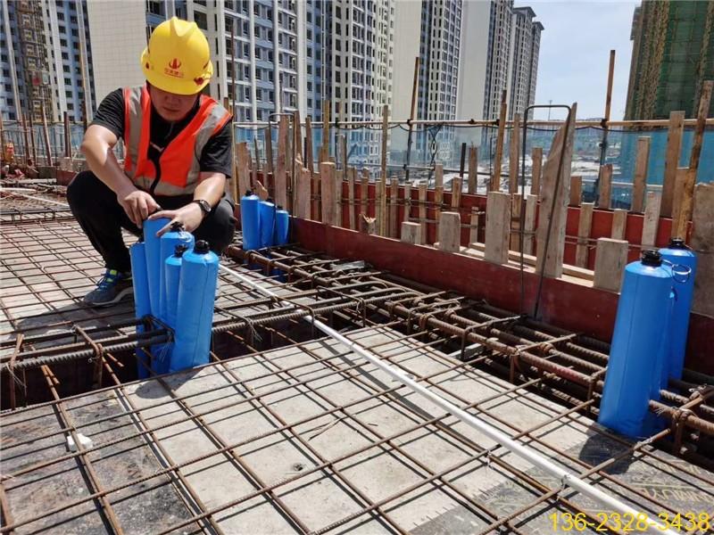 快易收口网终结者---建筑梁柱混凝土隔断拦茬防串标气囊2