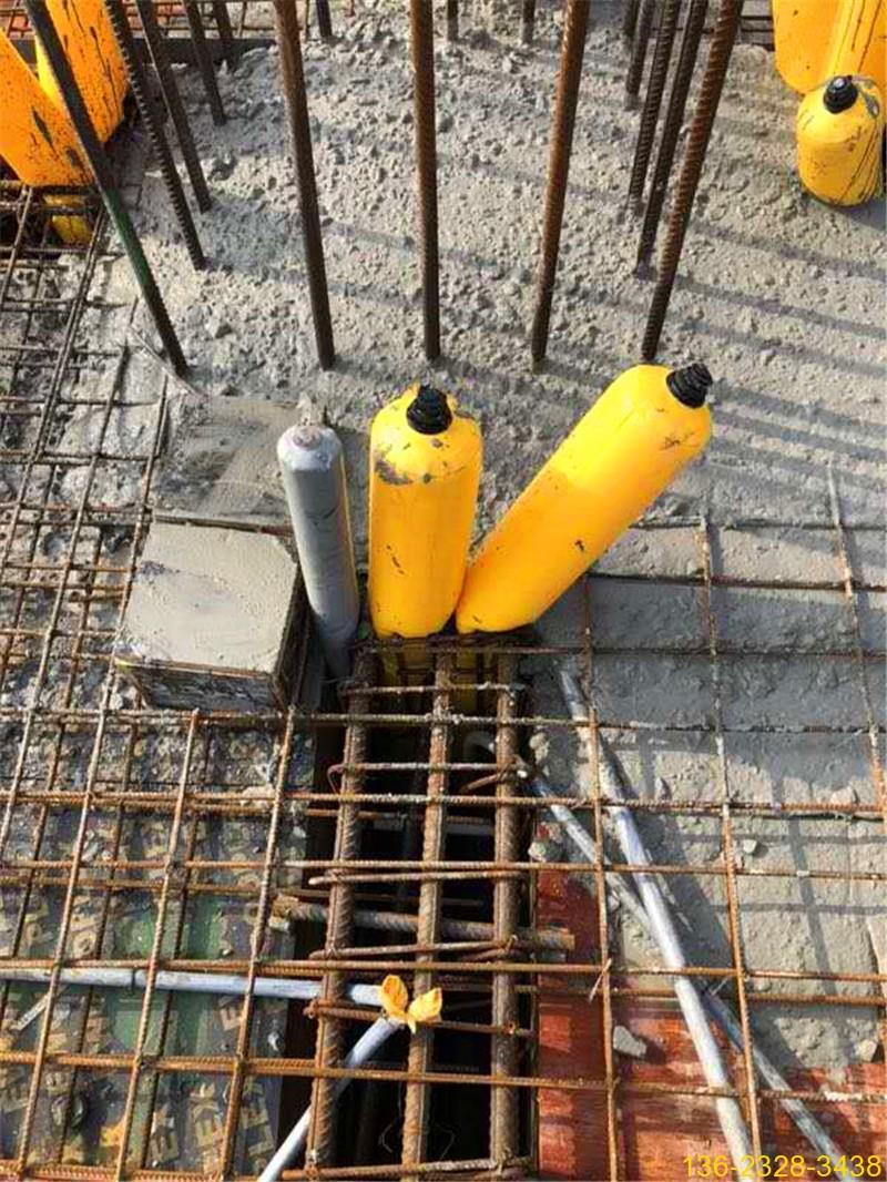 建筑梁柱节点多标号混凝土防串标拦茬气囊常用型号3
