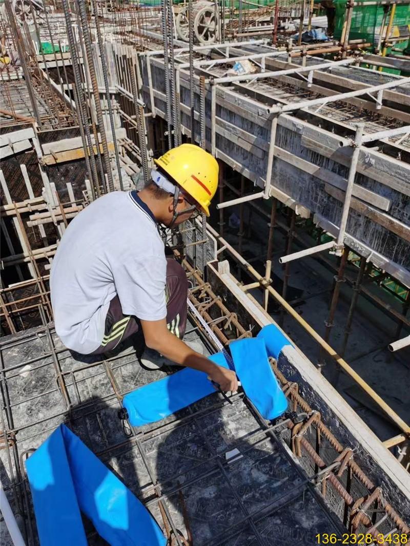 快易收口网终结者---建筑梁柱混凝土隔断拦茬防串标气囊7