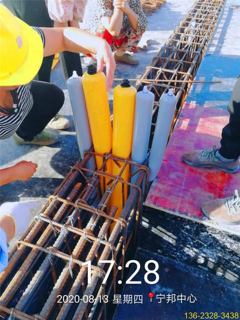 建筑梁柱节点多标号混凝土防串标拦茬气囊常用型号4