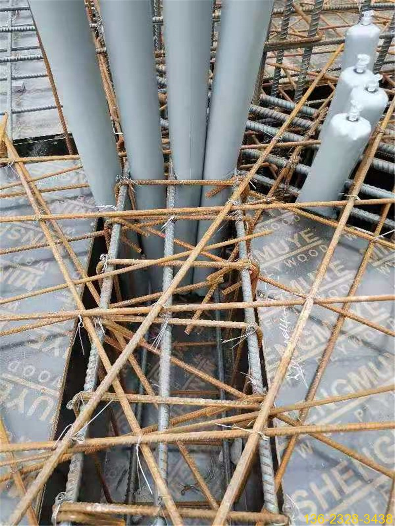 湖南娄底长沙高低标号混凝土拦茬气囊隔断气囊拦茬器6
