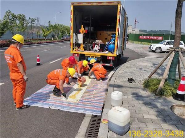 CIPP点位局部树脂固化修复-市政管道非开挖点修树脂6